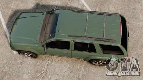 Chevrolet TrailBlazer SS 2008 para GTA 4 visión correcta
