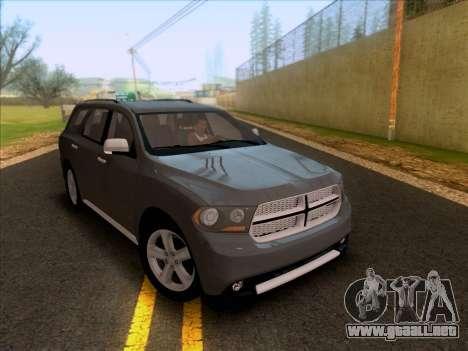 Dodge Durango Citadel 2013 para GTA San Andreas