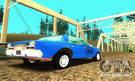 Fasthammer Taxi para la visión correcta GTA San Andreas