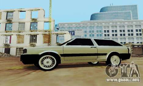 VW Parati GLS 1988 para GTA San Andreas left