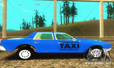 Fasthammer Taxi para visión interna GTA San Andreas
