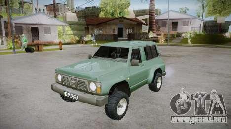 Nissan Patrol Y60 para el motor de GTA San Andreas