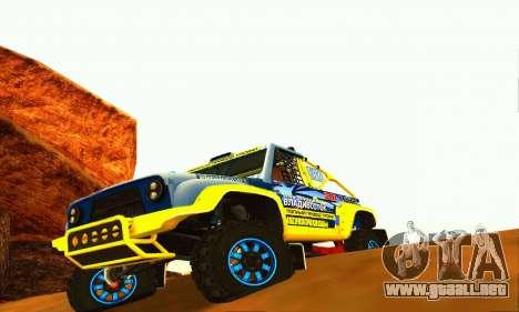 Rally de UAZ 31514 para GTA San Andreas left