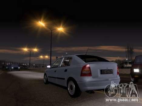 Opel Astra G para GTA San Andreas left
