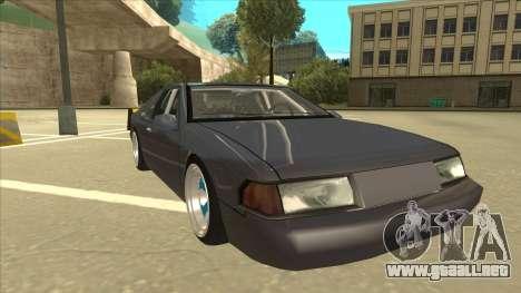 Fortune Drift para GTA San Andreas left