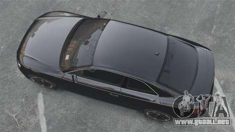 Audi RS5 2011 v2.0 para GTA 4 visión correcta