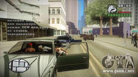GTA HD mod 2.0 para GTA San Andreas tercera pantalla