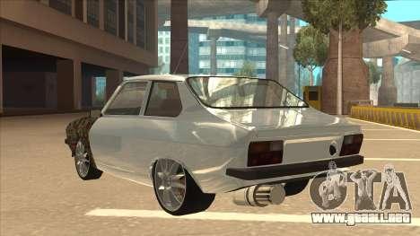 Dacia 1310 Sport Tuning para GTA San Andreas vista hacia atrás