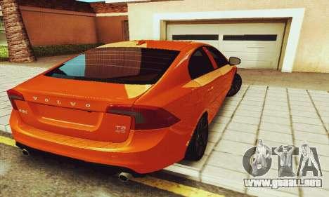 Volvo S60 para visión interna GTA San Andreas