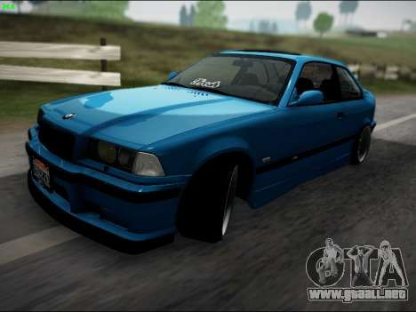 BMW M3 E36 Stance para GTA San Andreas left