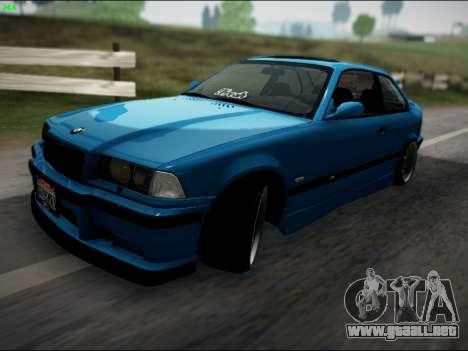 BMW M3 E36 Stance para GTA San Andreas left