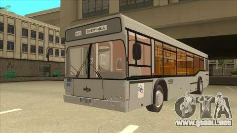 511 Sremcica Bus para GTA San Andreas