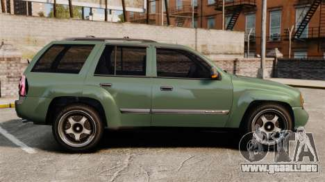 Chevrolet TrailBlazer SS 2008 para GTA 4 left