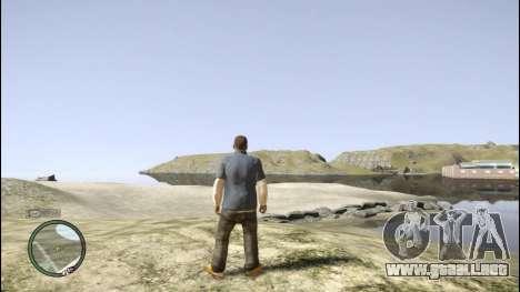 Franklin de GTA 5 para GTA 4 octavo de pantalla