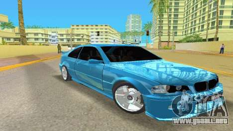 BMW M3 E46 Hamann para GTA Vice City left