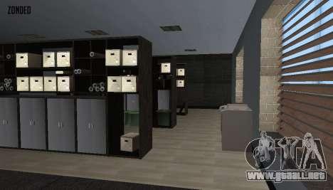 Retekstur el Interior del Ayuntamiento para GTA San Andreas séptima pantalla