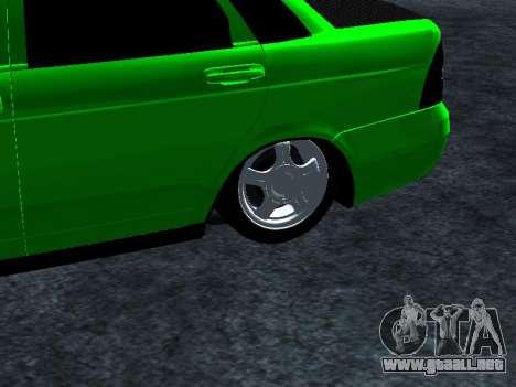 Lada Priora Carbon Lux para la visión correcta GTA San Andreas