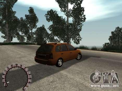 Lada 1117 Kalina para la visión correcta GTA San Andreas