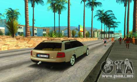 Audi A6 (C5) Avant para la visión correcta GTA San Andreas