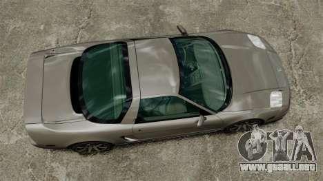 Acura NSX para GTA 4 visión correcta