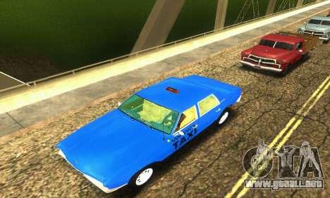Fasthammer Taxi para la vista superior GTA San Andreas