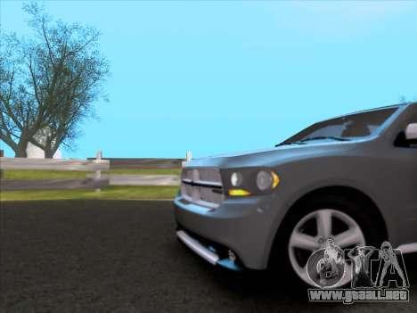 Dodge Durango Citadel 2013 para vista lateral GTA San Andreas