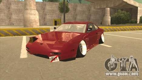 Nissan Silvia S18-5 para GTA San Andreas