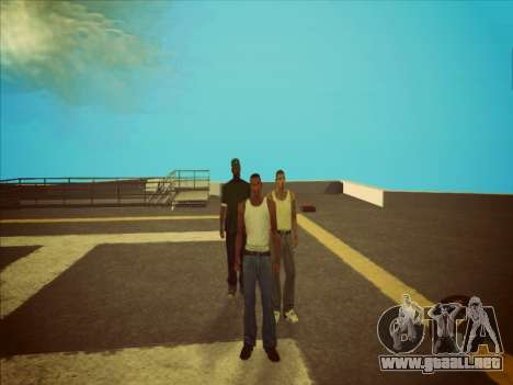 Conmutación entre personajes como GTA V 2.0 para GTA San Andreas