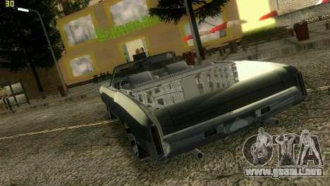 Chevy Monte Carlo para GTA Vice City visión correcta