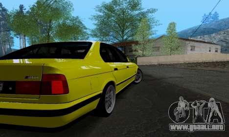 BMW M5 E34 IVLM v2.0.2 para la visión correcta GTA San Andreas