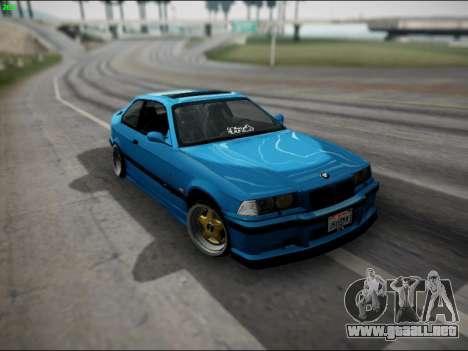 BMW M3 E36 Stance para GTA San Andreas interior