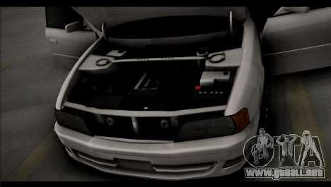Toyota Chaser Tourer V para GTA San Andreas vista posterior izquierda