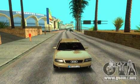 Audi A6 (C5) Avant para vista inferior GTA San Andreas