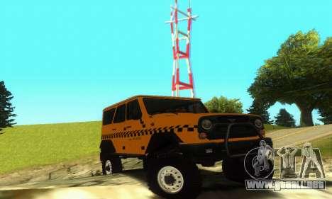 UAZ Hunter Taxi para GTA San Andreas