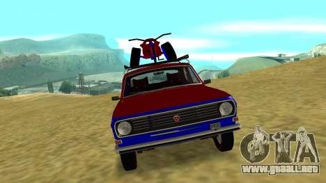 Volga GAZ-24 Fun para GTA San Andreas left