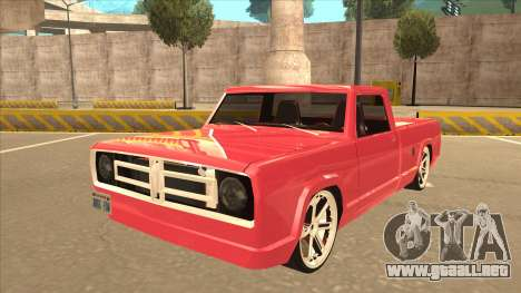 Modified Sadler para GTA San Andreas