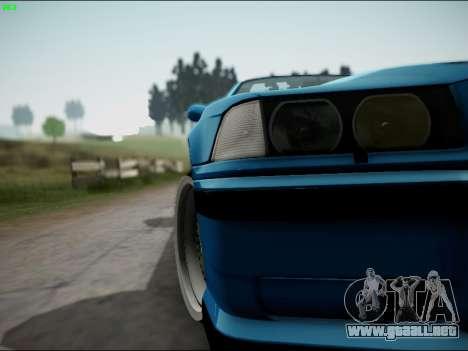 BMW M3 E36 Stance para la vista superior GTA San Andreas