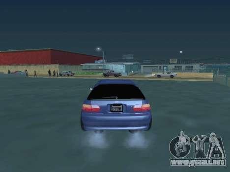 Honda Civic (EG6) 1994 para la visión correcta GTA San Andreas