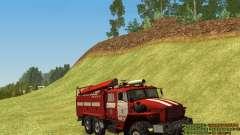 Ural 4320 bombero