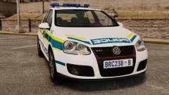 Volkswagen Golf 5 GTI Police v2.0 [ELS]