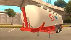 Semi-remolque para Scania R620 Nis Nis Kamion para GTA San Andreas