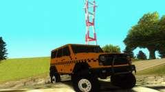UAZ Hunter Taxi