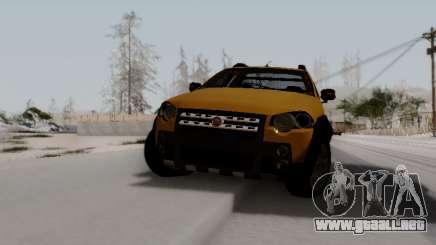 Fiat Strada Adv Locker para GTA San Andreas