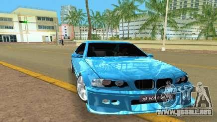 BMW M3 E46 Hamann para GTA Vice City