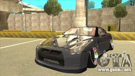 Nissan GT-R R35 Camber Killer para GTA San Andreas