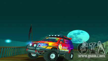 UAZ Patriot juicio para GTA San Andreas