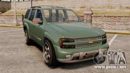 Chevrolet TrailBlazer SS 2008 para GTA 4