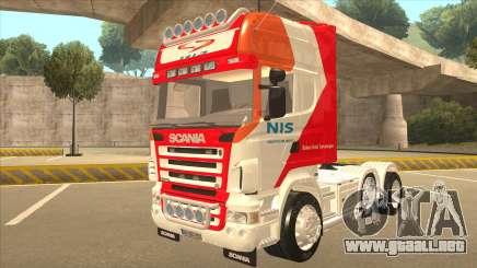 Scania R620 Nis Kamion para GTA San Andreas