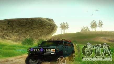 Hummer H2 Monster para GTA San Andreas