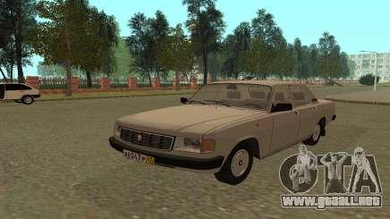 GAZ 31029 Volga Blanco para GTA San Andreas